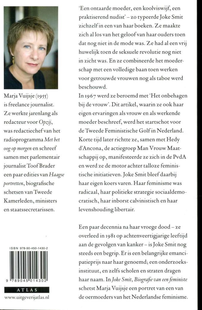 Biografie M. Vuijsje achterflap
